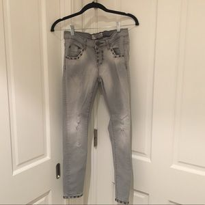 One x Teaspoon Studded Stretchy Jeans